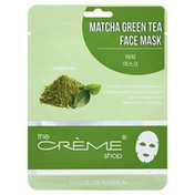 The Creme Shop Face Mask, Matcha Green Tea