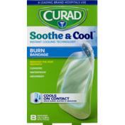 CURAD Soothe & Cool Burn Bandage