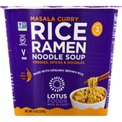 Lotus Foods Rice Ramen, Masala Curry, Mild