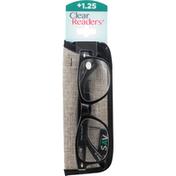 Clear Readers Eyeglasses, +1.25