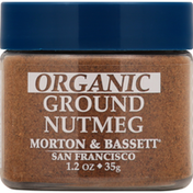 Morton & Bassett Spices Nutmeg, Organic, Ground
