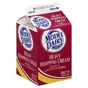 Model Dairy Whipping Cream, Heavy