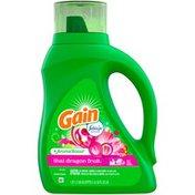 Gain Aroma Boost Liquid Laundry Detergent with Febreze Freshness, Thai Dragon Fruit,