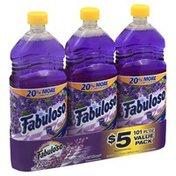 Fabuloso Multi-Purpose Cleaner, Lavender, Value Pack