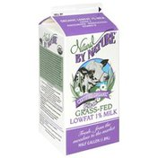Natural By Nature Lowfat 1% Milk, Fresh Grass-Fed