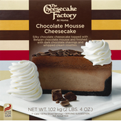 The Cheesecake Factory Cheesecake, Chocolate Mousse