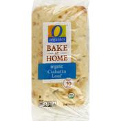 O Organics Loaf, Organic, Bake At Home, Ciabatta