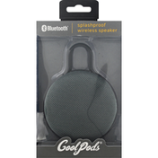 Coolpods Speaker, Wireless, SplashProof