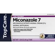 TopCare Miconazole 7, 7-Day Treatment, Tube