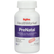 Hy-Vee Healthmarket, Prenatal Before, During And After Pregnancy Dietary Supplement Tablets