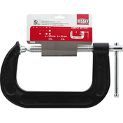 Bessey C-Clamps, Light Duty, Drop Forged, 5 Inches
