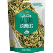 Fresh Gourmet Organic Focaccia Caesar Crumbles