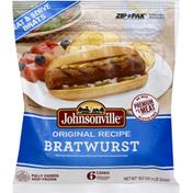Johnsonville Bratwurst, Original Recipe