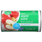 Food Club 100% Unsweetened Apple Juice Frozen Concentrate
