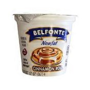Belfonte Non-fat Cinnamon Roll Yogurt