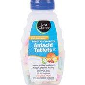 Best Choice Assorted Fruit Regular Strength Antacid Tablets