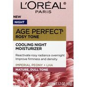 L'Oreal Moisturizer, Cooing Night, Age Perfect