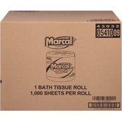 Marcal® 1-Ply Single Rolls 1000 Ct Bath Tissue