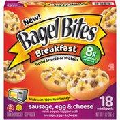 Bagel Bites Breakfast Sausage, Egg & Cheese Mini Bagels