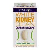 Natrol White Kidney Bean Carb Intercept Phase 2 Dietary Supplement Capsules - 60 CT