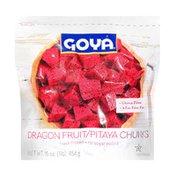 Goya Dragon Fruit, Pitaya Chunks, Frozen