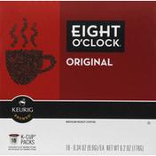 Eight O'Clock Coffee K-Cups, Coffee, Medium Roast, Original