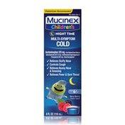 Mucinex® Children's Multi-Symptom Nighttime Cold Liquid, Very Berry Flavor (Packaging May Vary)