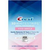 Crest 3D Whitestrips Vivid White Gentle Teeth Whitening Kit