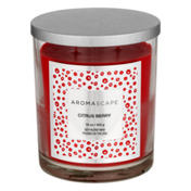 Aromascape Fragranced Candle with Natural Essential Oils Citrus Berry