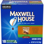 Maxwell House House Blend Decaf Medium Roast K-Cup® Coffee Pods