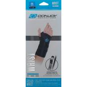 Donjoy Speed-Wrap Wrist, Stabilizing, Maximum, Left, Black, One Size