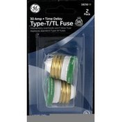 GE Fuse, 2 Pack 30 Amp Type T/TL Time Delay