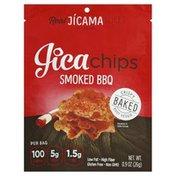 Jicachips Jicama Slices, Smoked Bbq