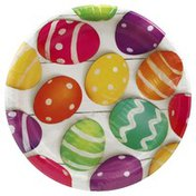 Party Creations Plates, Basket Bounty, 6-7/8 Inch