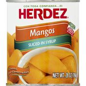 Herdez Mangos, Sliced, in Syrup