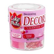 Cake Mate Decors Valentine Mix