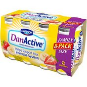 DanActive Strawberry Banana Probiotic Dairy Drink