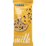 Milk Bar Crumb Cakes, Chocolate Chip Truffle, 2-Pack