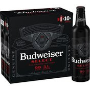Budweiser Select Light Beer Aluminum Bottles