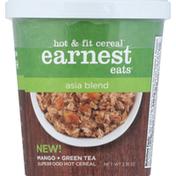 Earnest Eats Cereal, Hot & Fit, Asia Blend