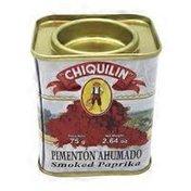 Chiquilin Gluten Free 3 Tins Smoked Paprika, Pimenton Ahumado