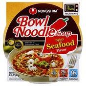 Nongshim Noodle Soup, Bowl, Spicy Seafood Flavor