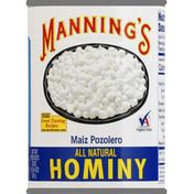 Manning's Hominy, White