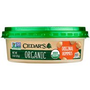 Cedar's Foods Organic Original Hommus