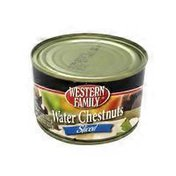 Western Family Water Chestnuts