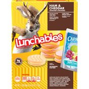 Lunchables Ham & Cheddar with Capri Sun Convenience Meal