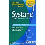 Systane Eye Drops, Lubricant, Vials