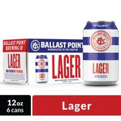 Ballast Point Brewery Lager Craft Beer Cans