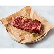 Seasoned Boneless Prime Natural Angus Beef Eye of Round Ribeye Roast