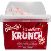 Friendly's Cake Singles, Strawberry Krunch